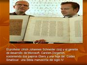 CODICES DE LA BIBLIA