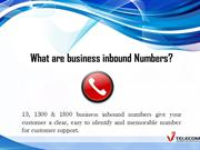 what are business inbound numbers