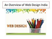 An Overview of Web Design India
