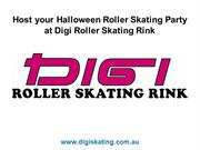 Host your Halloween Roller Skating Party at Digi Roller Skating Rink