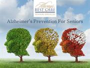 Alzheimer's Prevention for Seniors