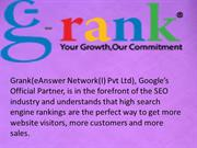 SEO SERVICES by E ANSWER NETWORK INDIA PVT LTD Bangalore