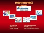 PPC SERVICES BY E ANSWER NETWORK INDIA PRIVATE LIMITED