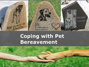 Coping with Pet Bereavement