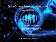 Data-Driven Resource Allocation