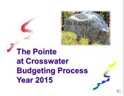 2015 budget presentation with narration
