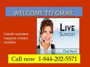 1-844-202-5571Gmail Tech Support Services Telephone Number