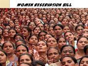 WOMEN RESERVATION BILL_GAURAV