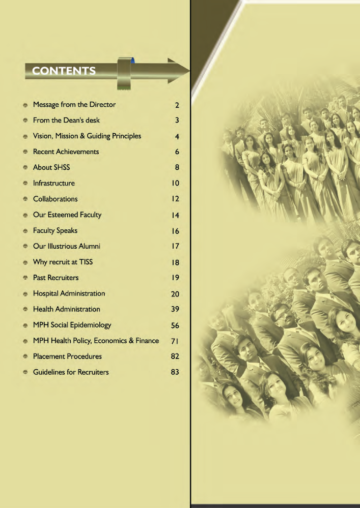 TISS Placement Brochure 2013-15 |authorSTREAM