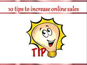 10 tips to increase online sales