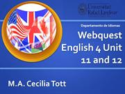 Webquest E4 U 11 and 12