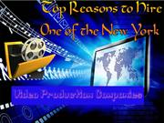 Top Reasons to Hire One of the New York Video Production Companies