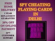 Buy Cheap Rate Spy Cheating Playing Cards in Delhi