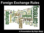 Foreign Exchange Rules