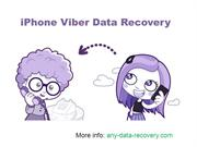 How can you recover Viber messages iPhone