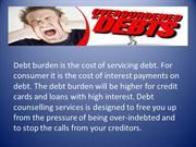 Over burdened by Debt | Debt counsellin