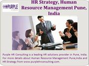 HR Strategy, HR Solutions Provider in Pune, India
