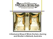 Taylor & Stirling - a Manufacturer and Retailer of Blinds & Curtains