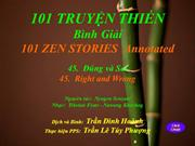 101 Zen45_Đúng và Sai_Right and Wrong_TĐH & TLTP