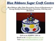 Blue Ribbons- Cake Decoration Courses & Equipments in Surrey