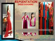 Dress designing presentation