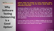 Why Software Testing Outsourcing is a Good Option