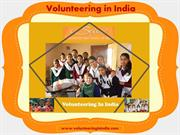 Volunteering in india..