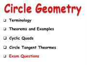 Section 3.4. Circle Theorems - Edited