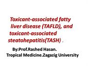 toxicant fatty liver disease