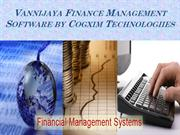 Vannijaya Finance Management Software by Cogxim Technologiies