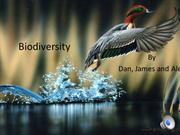 CLIMATE CHANGE effect on BIODIVERSITY