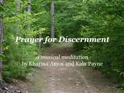 Prayer for Discernment