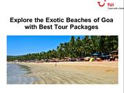 Explore the Exotic Beaches of Goa with Best Tour Packages