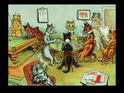 885-Louis Wain-cat painter
