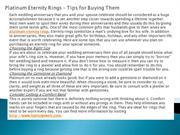 Platinum Eternity Rings – Tips for Buying Them