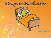 Paediatric Drugs