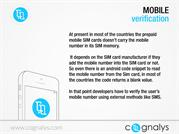 Free Global Android Mobile number verification -cognalys.com