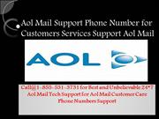 1-855-531-3731 Aol Mail technical Support number USA