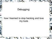 synapse india reviews about Debugging