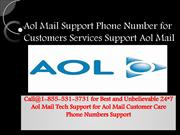 Aol Mail technical Support number 1-855-531-3731 USA