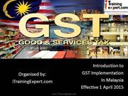 What is GST Malaysia