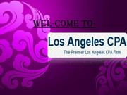 Tax Accountant Los Angeles and Forensic Accounting Los Angeles
