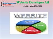 Web Developer Atl A Professional Web Development Company in Atlanta