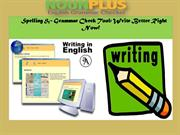 Spelling & Grammar Check Tool Write Better Right Now!