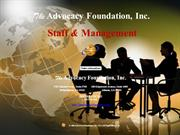 Staff & Management