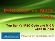 IFSC and MICR Code