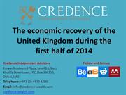 Credence Independent Advisors: The economic recovery