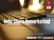 India Shuns Remarketing!