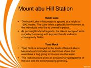 mount abu attractions Rajasthan