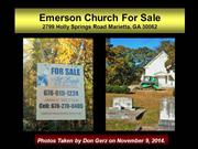 Emerson Church for Sale on Holly Springs 11-09-14